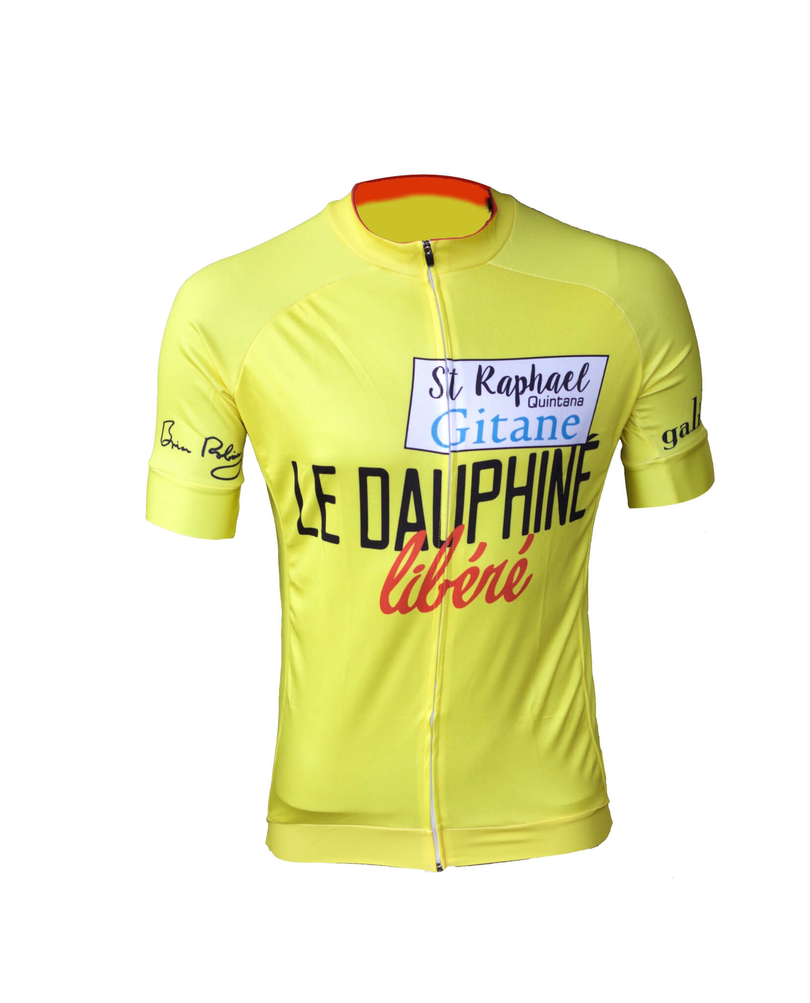 8677b1474 Brian Robinson s Dauphiné Libéré jersey.